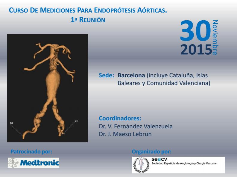 curso mediciones endoprotesis aorticas